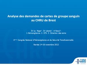 2012-11-15_16h00_comm_libre3_le_niger_analyse_des_demandes_de_cartes_de_groupe_sanguin_au_chru_de_brest