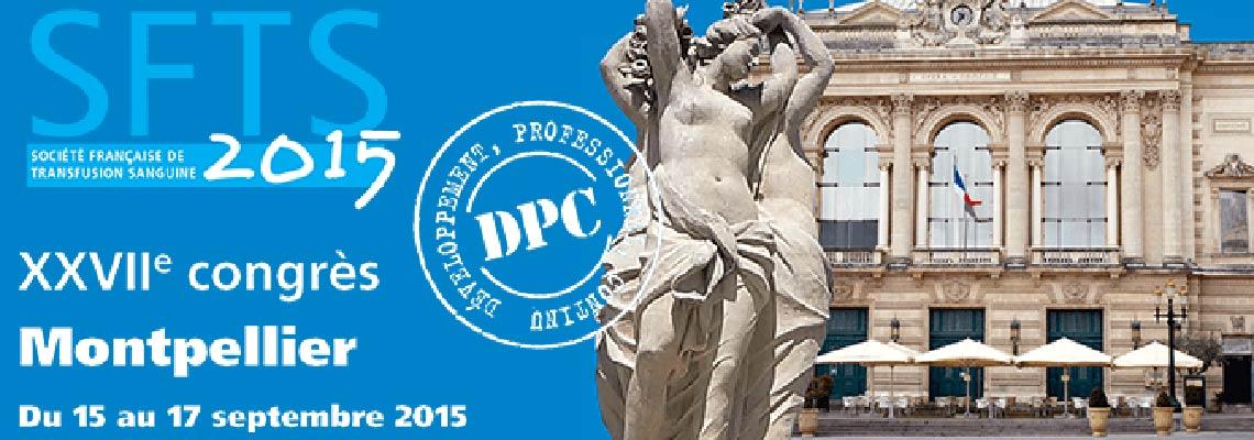 Congrès SFTS Montpellier 2015