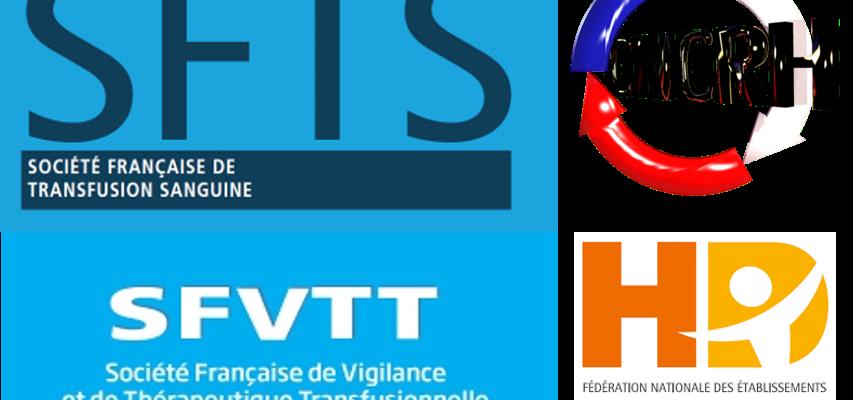Collaboration     SFTS / SFVTT / FNEHAD / CNCRH                                                         Recommandations pour la transfusion en HAD